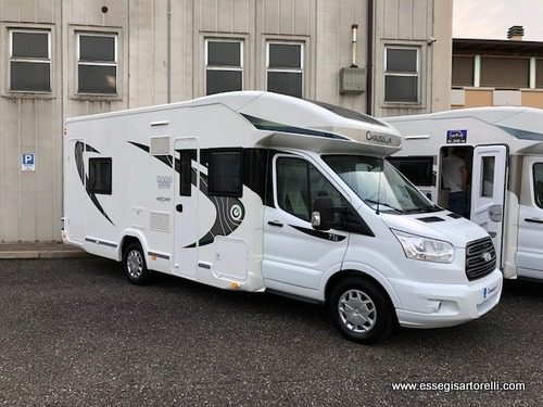 Chausson Welcome 716 garage e basculanti 170 cv power full