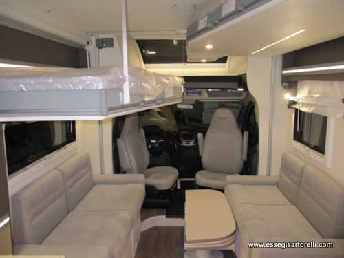 Chausson Welcome 630 letti indipendenti garage 699 full