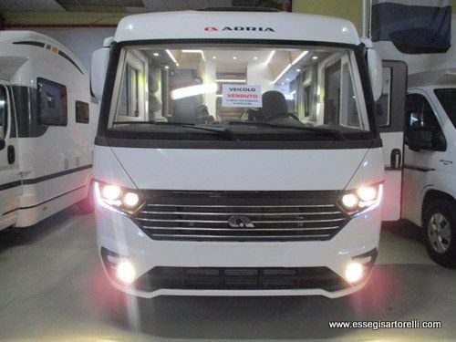 Adria Sonic Plus 700 SL garage pelle 150 cv 2019 full