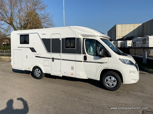 Adria Compact AXESS DL letti gemelli garage gamma 2020 165 cv POWER 699 cm full